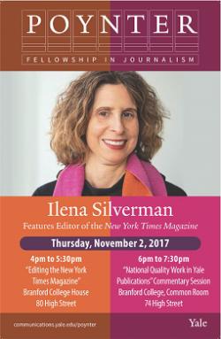 Ilena Silverman Features Editor The New York Times Magazine English