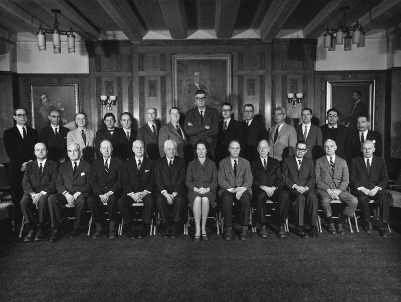 English faculty 1967