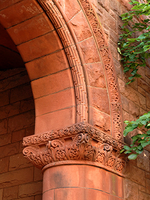 Linsly-Chittenden - detail of archway